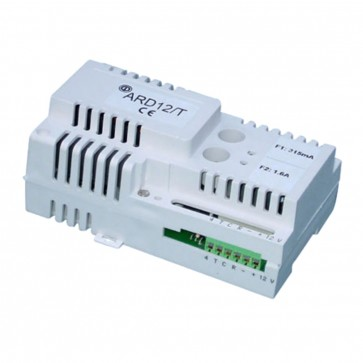 12VDC Din Rail Mount Power Supply With Timer Relay