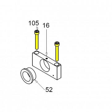 CASIT Traffic Barrier Main Shaft Clamp 10mm Bolt BM / BV