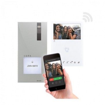 COMELIT  8451V - WIFI HANDS-FREE 2 WIRE KIT WITH APP CALLING.
