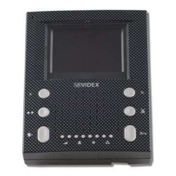 Videx SL5456/CA MONITORS AND TELEPHONES FOR CVK4K, CVK8K AND CVR4KV KITS Carbon Fibre surface handsfree videomonitor (Connection PCB included)