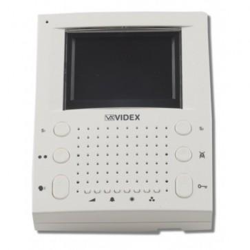 Videx SL5456 MONITORS AND TELEPHONES FOR CVK4K, CVK8K AND CVR4KV KITS White surface handsfree videomonitor (Connection PCB included)