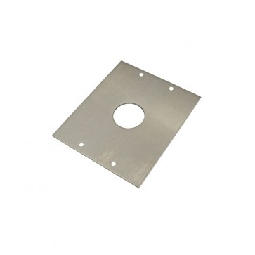 Videx SMP4882 Stainless steel back boxes for posts S/S mounting plate for 4882 to S/S post