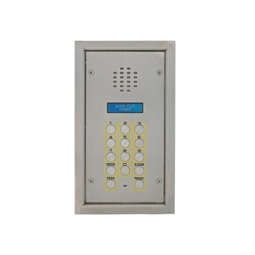 Videx SP300-1 2200 Series Vandal resistant flush digital panels Flush bezel box audio panel with DDA features