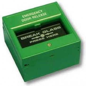 Videx SP85/G BREAK GLASS UNITS Break glass unit green