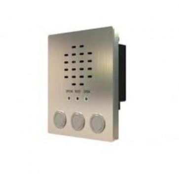 Videx VR4KAM-3/Y Speaker modules Amplifier module (3 buttons with yellow bezel)