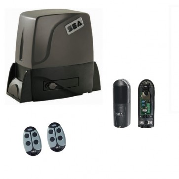 Boxer 2000 FM Continuous Sliding Gate Kit