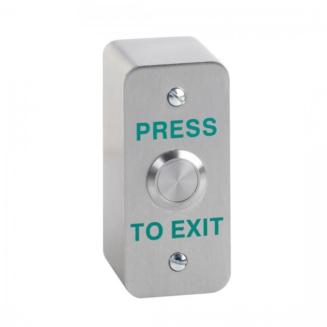 Stainless Architrave Press To Exit Button