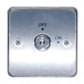 Stainless Steel Single Gang Key Switch Surface Mount