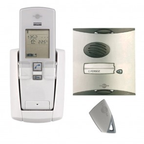 1-Way Daitem Digital Wireless Intercom Without Digital Keypad