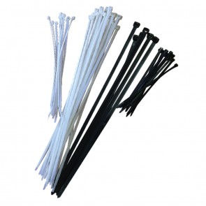 Cable Ties 200mm x 4.8mm Black 100 Pack