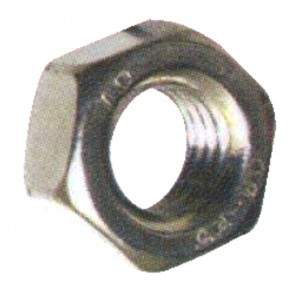 M6 Hex Full nut