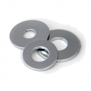 Steel Oversized Washers M10 x 25 x 1.5 BZP ( 100 box )