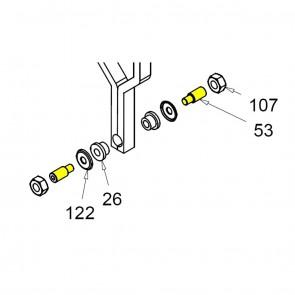 CASIT Traffic Barrier Motor Support