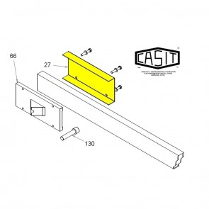 CASIT Traffic Barrier BV / BM / BG Arm Clamp ( Square )