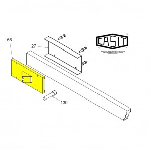CASIT Traffic Barrier Arm Clamp Plate
