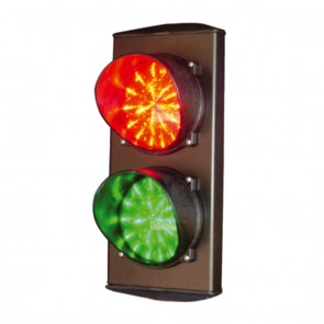 LED Double Aspect Traffic Light  12V 24V