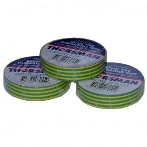 PVC Insulating Tape Yellow / Green