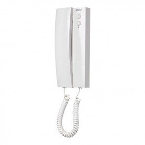 Videx 3141 TELEPHONES AND VIDEOPHONES for 1+ 1 3000 series audio telephone with lock button, service button and secrecy of speech and lock