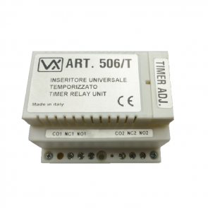 Videx 506/T Audio/Video door entry accessories Boxed relay 12/24v with timer (23G/T)