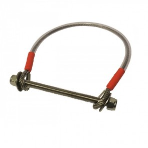 Stainless Steel Safety Cable Fall Arrest for Swing Gate 400mm