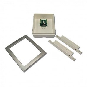 Videx 5981N/CR 5000 SERIES COLOUR VIDEO MONITORS (ECLIPSE) Silver flush kit for Eclipse handsfree videomonitor