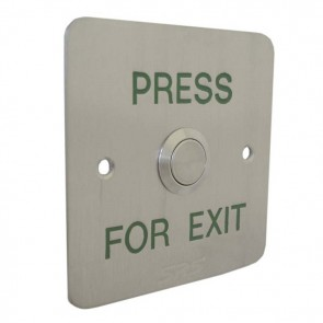 Press To Exit Button Flush Stainless Steel