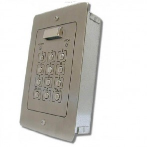 Videx 900NF 800 & 900 SERIES  CODELOCKS (12V/24V) Flush 100 codes + light s/s or ali (52P)