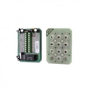 Videx EX5-TP CODE LOCK ELECTRONICS Polycarbonate back lit keys, 2 relays, up to 99 codes 12/24V ac/dc
