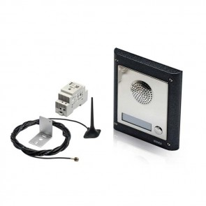 Videx GSM4K-1 4000 SERIES MODULAR GSM AUDIO FLUSH KITS COMPLETE WITH PSU AND ANTENNA 1 way flush