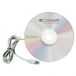 Comelit SK9093 SIMPLEKEY BASIC - SOFTWARE + SERIAL CABLE