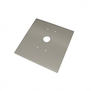 Videx SMP4881 Stainless steel back boxes for posts S/S mounting plate for 4881 to S/S post