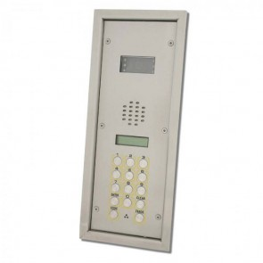 Videx SP301-1C 2200 Series Vandal resistant flush digital panels Flush bezel box colour video panel with DDA features