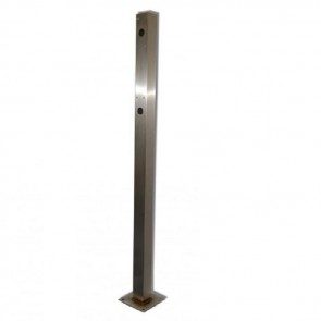 Videx SP920 Posts stainless steel Dual height pedestrian post 1600mm/1200mm high