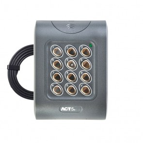 ACT5E Standalone Resin Filled Keypad + 3M Lead - FREE UK DELIVERY