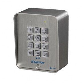 Stainless Steel Surface Digital Keypad CBB
