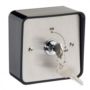 Maintained Key Switch With Plastic Surround