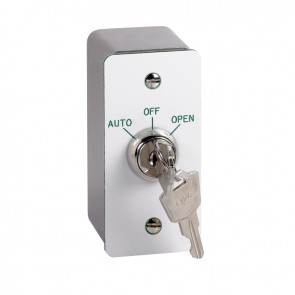 Architrave Key Switch Stainless Steel Surround