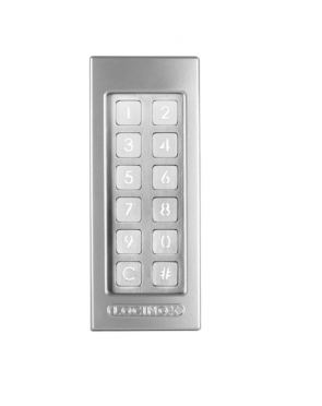 Locinox Slimstone Silver Keypad