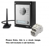 Videx GSM4K-2S 2 Way Surface Mount GSM Pro Intercom Kit With Proximity