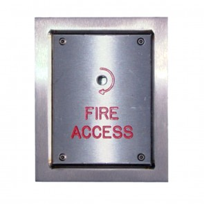 Fireman Switch IP54 Flush Mount