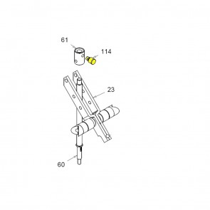 CASIT Traffic Barrier - Fork collar greaser