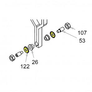 CASIT Traffic Barrier Motor Support Washer