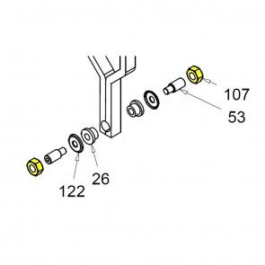 CASIT Traffic Barrier Motor Support Nut