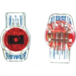 Crimp Connector Gel Filled 3 Way ( Red )