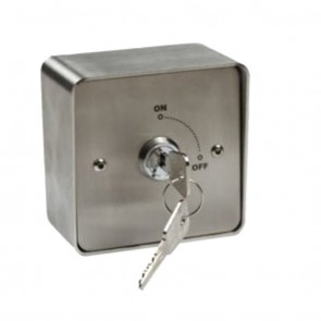 Key Switch With Stainless Steel Surround