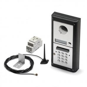 Videx 4K-10/CL 10 Way Intercom With Codelock Flush kit