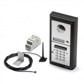 Videx 4K-6/CL 6 Way Intercom With Codelock Flush