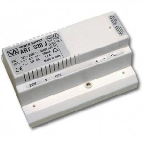 Videx 520J 5000 SERIES COLOUR VIDEO MONITORS (ECLIPSE) Power unit for two or three way intercom (2M)
