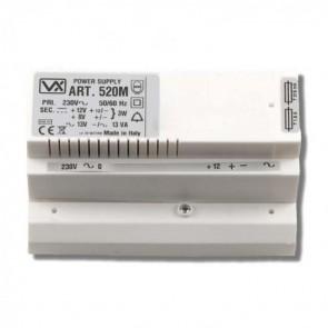 Videx 520M 5000 SERIES COLOUR VIDEO MONITORS (ECLIPSE) Power supply 12v a/c, 8 + 12v d/c (4C)