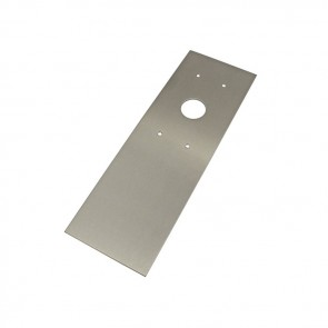 Videx SMP4883 Stainless steel back boxes for posts S/S mounting plate for 4883 to S/S post